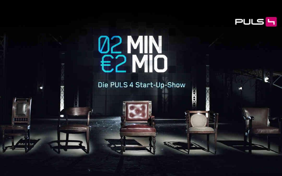 """Bekannt aus der TV Startup-Show """"2Minuten - 2 Millionen"""""""