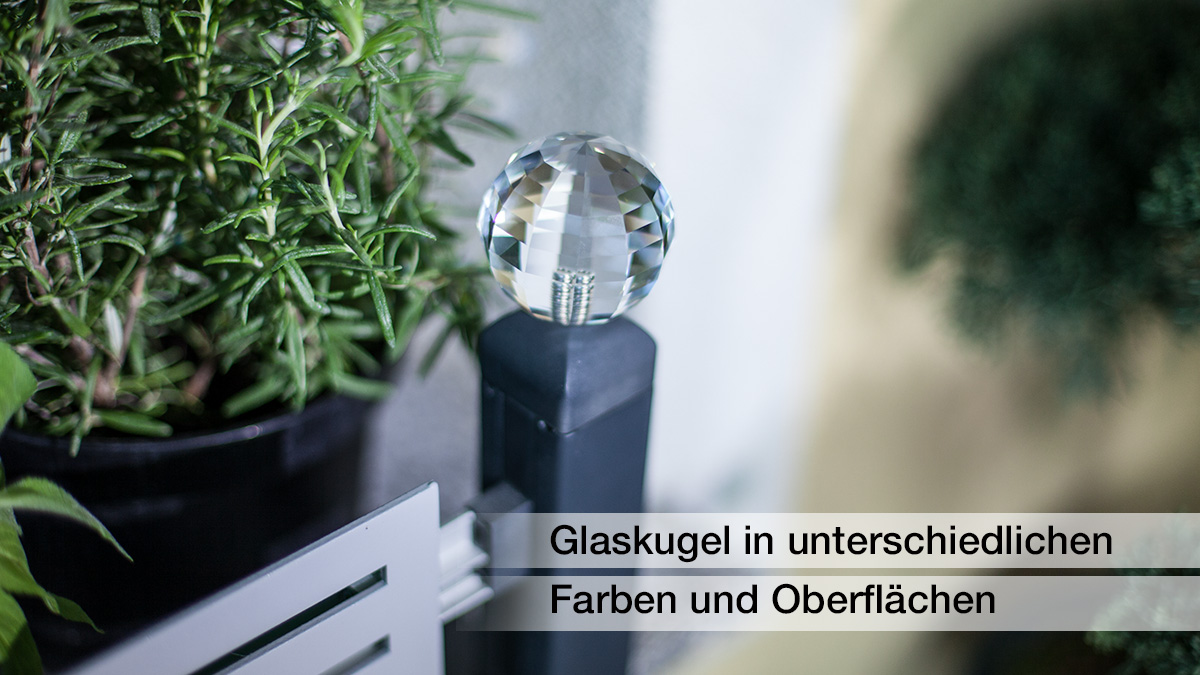 masu glass balls - high quality accessory of Green Creations